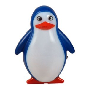 Luz Divertida Led Autovolt Pinguim 127/220v