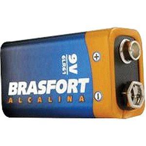 Bateria Alcalina 9v c/ Cartela