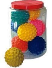 Brinquedo Bola Cravo Mini Pote C/16