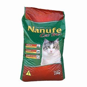 Ração Nanufe Cat 30% 25kg