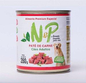 Pate Enlatado Cães Carne 280grs