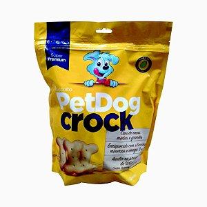Biscoito Pet Dog Crock 1kg