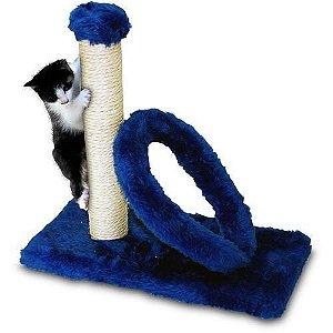 Arranhador Gato Poste Retangular c/arco