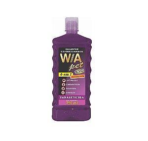 Shampoo Condicionador Parasiticida 6x1 - 750ml Wa Pet