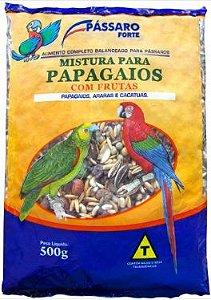 Mistura para Papagaios com  Frutas 500g