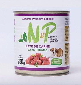 Pate Enlatado Cães  Filhote Carne 280grs