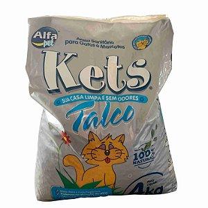 Areia p/gato Talco Fardo 5pct 4kg