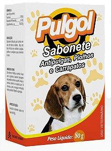 Sabonete Anti pulgas Piolhos / Carrapatos 80g Pulgol