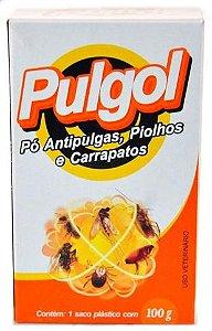 Talco Anti pulgas Piolhos / Carrapatos 100g Pulgol