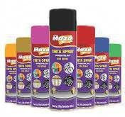 Tinta Spray Metálico Dourado 250g Maza