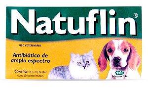 Natuflin Cartela com 10 Comprimidos