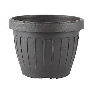 Vaso Plástico Redondo Adri-30 Preto