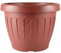 Vaso Plástico Redondo Adri-40 Cerâmica