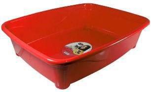 Banheira p/gato Classic Vermelha