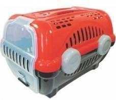 Caixa Transporte Luxo N.02 Preta/Vermelha