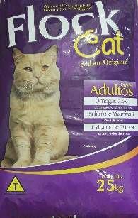 Ração Flock Cat Mix 25kgs
