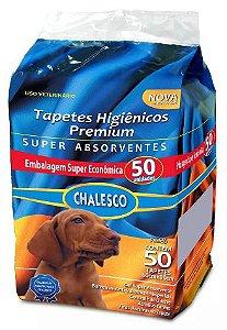 Tapete Higiênico Premium Chalesco 60x90 Com 50un