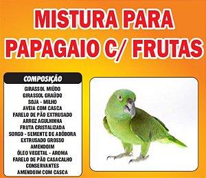 Mistura para  Papagaio com Frutas 10kg