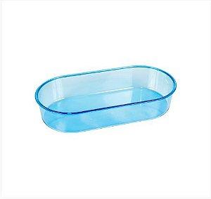 Banheira M Azul Oval 200ml 12pcs
