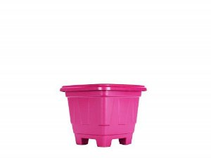 Vaso Plástico Quadrado Color N.00