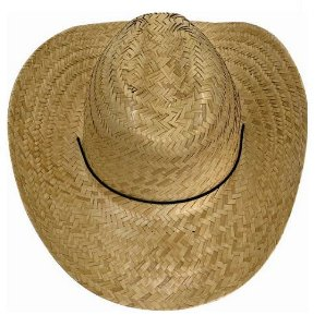Chapéu Palha Texas com Barbelo