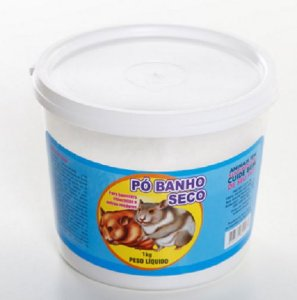 Banho Seco Roedores Pote 1kg