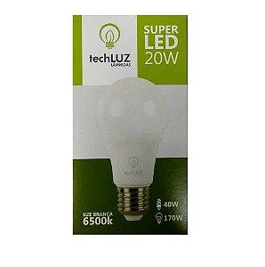 Lampada de Led Bulbo 20w Techluz