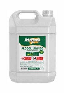 Alcool Liquido 70% 5lts Maza