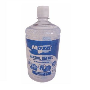 Alcool em Gel 70% 1Lt Maza