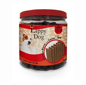 Bifinho Pote Barra Carne 1kg (22) Lippy Dog