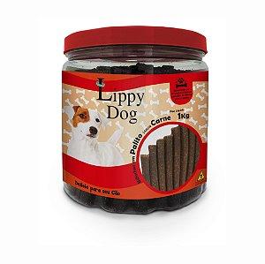 Bifinho Pote Palito Carne 1kg (28) Lippy Dog