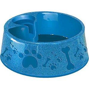 Bebedouro Plast. Paris N2 700ml Azul Furacao Pet