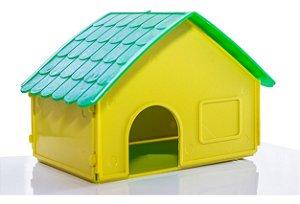 Casinha Plastica Hamster Ornamental