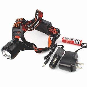 Lanterna Cabeça Led Recarregável Dual Ligth Zoom (95660) CMIK