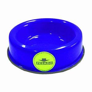 Comedouro Plástico Pesado Mini Azul 150ml Still Pet
