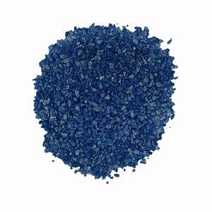 Areia Aquário 800g Azul Escuro