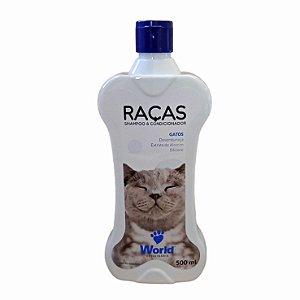 Shampoo e Condicionador Raças Gatos 500g