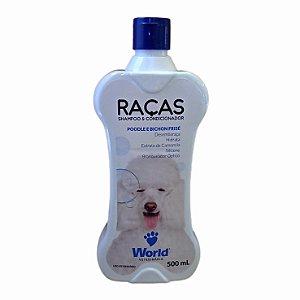 Shampoo E Condicionador Raças Poodle e Bichon Frisé 500g