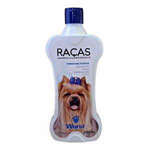 Shampoo E Condicionador Yorkshire e Terrier 500g