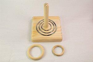 Montessori Kit de argolas progressivas