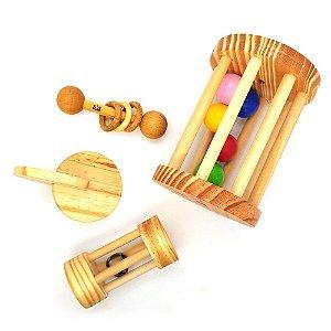 Kit Montessori para bebês - 4 a 10 meses