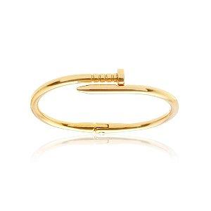 Bracelete Prego Inspired dourado