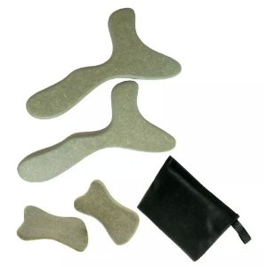Kit de Pantalas Para Massagem Corporal e Facial
