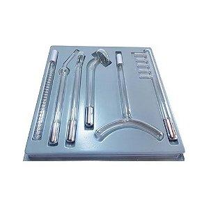 Eletrodos Para Alta Frequência - Kit com 6 Eletrodos