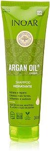 ARGAN OIL SHAMPOO SYSTEM INOAR 240 ML