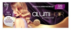 Alumihair Grande 12x30cm 320 Folhas