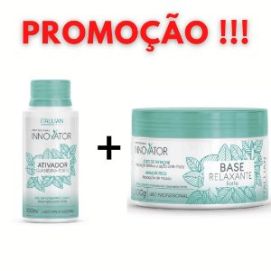 KIT - BASE RELAXANTE FORTE 250 G + ATIVADOR FORTE 100 ML