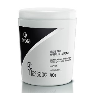 Avora Fit Massage 700g Creme para massagem sem perfume