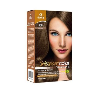 Avora Splendore Color creme tonalizante sem amonia 800 Louro Claro