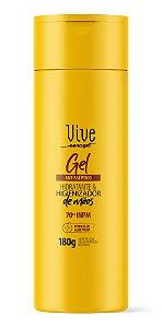 Avora Vive Concept Álcool em gel Antisséptico hidratante & higienizador de mãos 70° INPM 180G